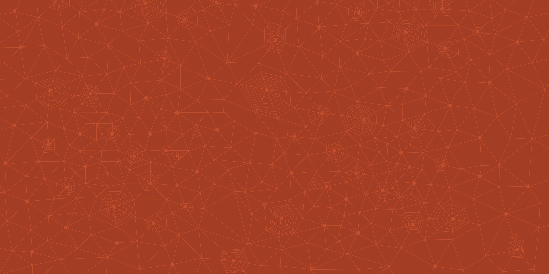 fond cobweb red